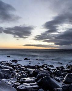 Dark shores, Portugal. Portugal, Celestial, Explore, Sunset, Dark, Beach, Water, Outdoor, Image