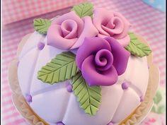 Faça rosas em minutos usando biscuit passo a passo