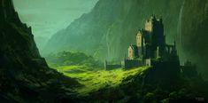 The Last Fortress, Andreas Rocha on ArtStation at https://www.artstation.com/artwork/wZrGZ