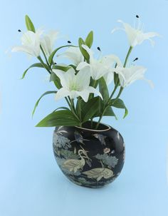 Gifts After Life flowers  White lily flowers  www.giftsafter.life #artificialflowers #flowers #giftsafterlife #lily