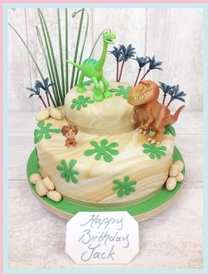 The Brilliant Bakers - The Good Dinosaur Cake, £85.00 (http://www.thebrilliantbakers.co.uk/the-good-dinosaur-cake/)