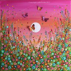 Julie Ryder Mixed Media Artist | Canvas Art