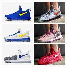 new concept c60d5 2f01f  KevinDurant  PinkShoes  KevinDurant  KD9Sneakers  Womens Mens The  versatile, lightweight