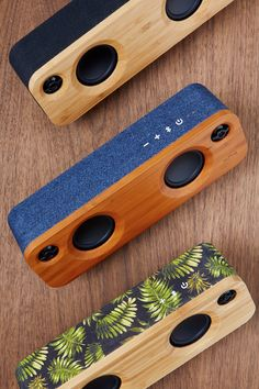 Light up your day with vibrant sound that keeps everyone smiling. The House of Marley Get Together Mini Portable Bluetooth Speaker a scaled-down version of the classic Get Together speaker—packs a lot into a small package. Desktop Speakers, Diy Speakers, Waterproof Bluetooth Speaker, Wireless Speakers, Portable Speakers, Boombox, Wooden Speakers, Speaker Box Design, 3d Prints