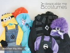 Another Big Bite - DIY Despicable Me Costumes
