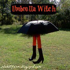 UMBRELLA WITCH TUTORIAL - so fun! | SiloHillFarm.blogspot.com