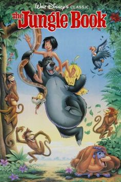 The jungle book - The Jungle Book follows the ups and downs of the man-cub Mowgli as he makes his way back to the human village with wise panther Bagheera to escape ruthless tiger Shere Khan. Along the way, he meets unforgettable friends and foes including mad King Louie of the Apes, the hypnotic snake Kaa and the loveable, happy-go-lucky bear Baloo, who teaches Mowgli about true friendship.