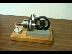 Robótica – El motor Stirling, es tan sencillo que hasta lo puedes construir tu mismo – Felix Maocho
