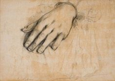 Charles Lebrun, Etude de main