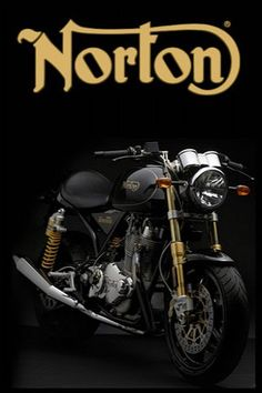 Norton Motorcycle, I saw this in town :D