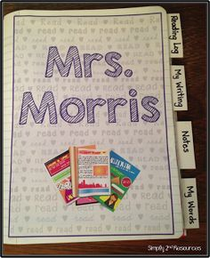 Simply 2nd Resources: Reading  Writing Notebook