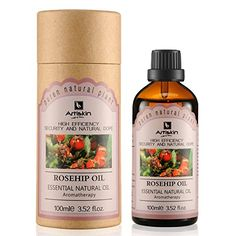 Organic 100 Pure Cold Pressed Unrefined Skin Whitening Natural Rosehip Oil 352 oz *** See this great product.