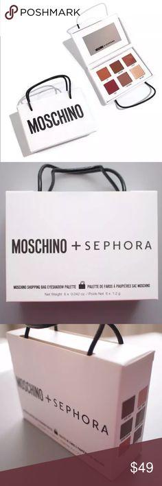 MOSCHINO x SEPHORA Shopping Bag Eyeshadow Palette New MOSCHINO x SEPHORA Collection Shopping Bag Eyeshadow Palette. Brand new in box moschino sephora Makeup Eyeshadow