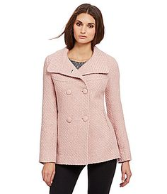 Jessica Simpson Braided DoubleBreasted Peacoat #Dillards