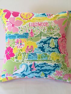 Lilly Pulitzer pillow Indooroutdoor pillow from the Lilly for
