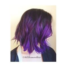 purple ombre on bob hair - Google Search