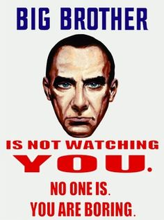 HAHAAHHA #big brother #watching #thoughts #quotes