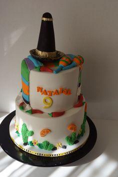 Fiesta Mexicana cake