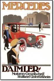 Mercedes Daimler pre-Great War(?) poster