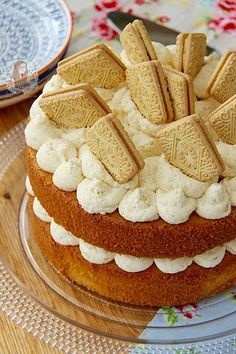 Custard Cream Cake! | Jane's Patisserie | Bloglovin'