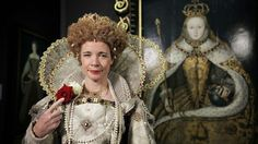 Just normal evening wear for the Captivating Lucy Worsley.