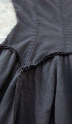 Garter Dress Detail - Alabama Chanin