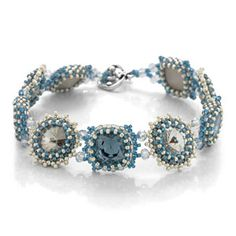 Denim Starlight Bracelet | Fusion Beads Inspiration Gallery | DIY Jewelry