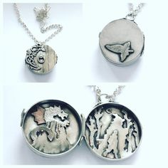 Linda's silver locket inspired by The Hobbit and Lord of the Rings has been chosen by our judges as a Design of the Week winner! We loved the nice contrast between the different finishes, and thought the layering inside the locket to create a 3D effect was visually interesting. Well done!