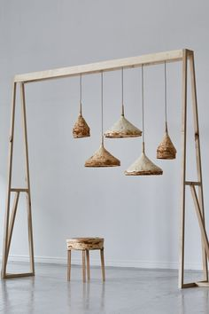 Mushroom mycelium used to create suede-like furniture by Sebastian Cox and Ninela Ivanova