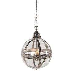 £470 Ref: CH85729  Dimensions: Diam:460mm    Marvellously textural contemporary lighting fixture  Accent lighting fixture is truly one of a kind  Hung on a sturdy chain  Resplendently stylish and opulent lighting fixture