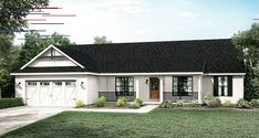 Interesting Facts About the Ranch Style Home Why it is the whole point? Well, there are several reasons to choose this as a home style. Let's have a look at some interesting facts about the ranch home Exterior Siding Options, Ranch Exterior, House Paint Exterior, Exterior Remodel, Exterior House Colors, Colonial Exterior, Home Styles Exterior, Bungalow Exterior, Siding Colors