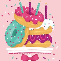 Donut completion! Stay tuned for more snacks :) #donutlove #illustration #artistsofinstagram #instagood