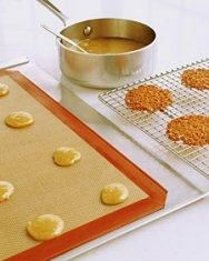 Honey Lace Cookies