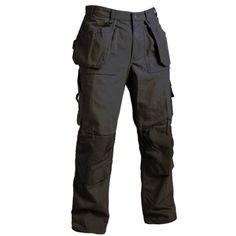 Blaklader Trousers Antique Khaki Size W34/L32: Amazon.co.uk: Clothing