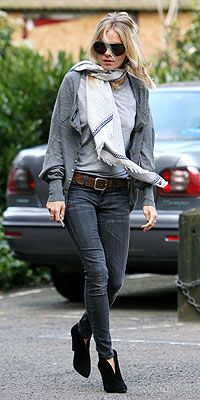 Grey and shinnies sienna miller style