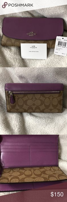 Coach wallet Price to sell Only!!!  Authentic Brand New Coach wallet   Absolutely no trades  Thanks Coach Bags Wallets