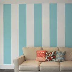 for those of us who rent: diy personality for your walls (btw, these stripes are removable!) GREAT ideas!! I believe these are available at Target and Lowe's