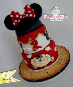 Minnie Cake - Cake by Marielly Parra