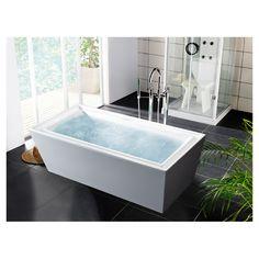 """Aquatica PureScape 70.75"""" x 33.5"""" Soaking Bathtub & Reviews   Wayfair"""