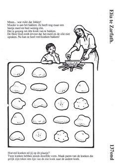 Elijah The Prophet 1 Kings 18 Bible Mazes: This Bible maze