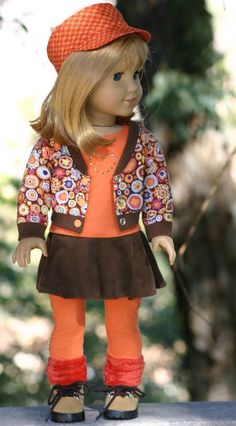 American Girl Doll Clothes-Bomber Jacket by DollClosetHeirlooms: