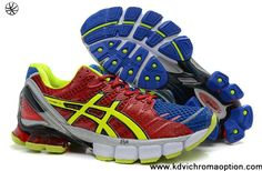 Latest Listing Discount Asics Kinsei 4 Mens Cym Red Old Royal Volt