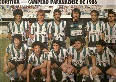 Coritiba, Campeão Paranaense de 1986