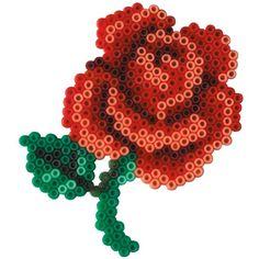 Rose Hama Mini perler