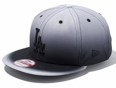 Black Gradient LA Dodgers 9Fifty Snapback Cap by NEW ERA x MLB