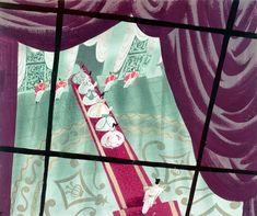 Deja View: Mary Blair Cinderella Art