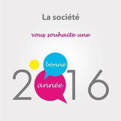 Carte de voeux Bonne Année 2016