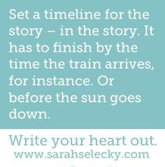 Writing prompt. Set a timeline for the story.