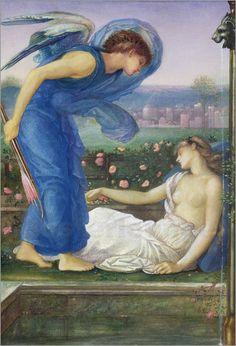 Edward Burne-Jones - Amor und Psyche