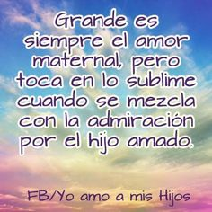 #amo a mis #hijos https://www.facebook.com/amamoshijos?fref=ts